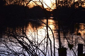 Vermilion River Sunset by Kevin Ste Marie Copyrighted